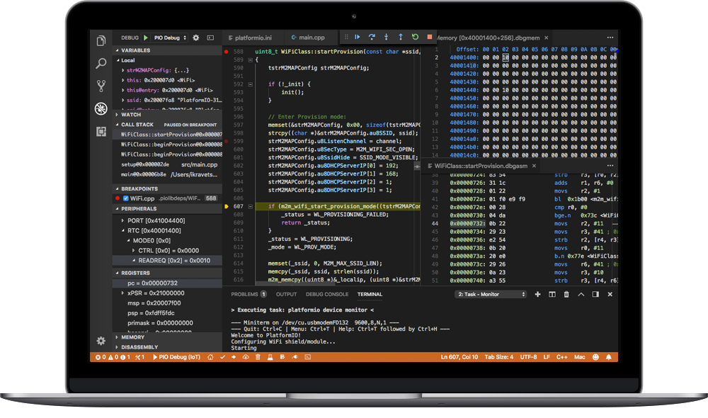 PlatformIO IDE 2.0 for VSCode 🚀