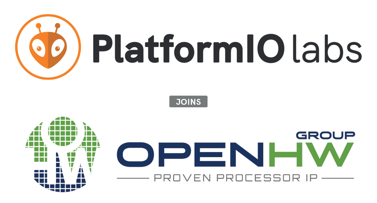 PlatformIO Labs joins OpenHW Group